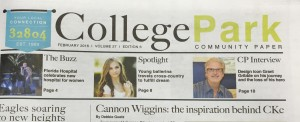 College Park Newsletter